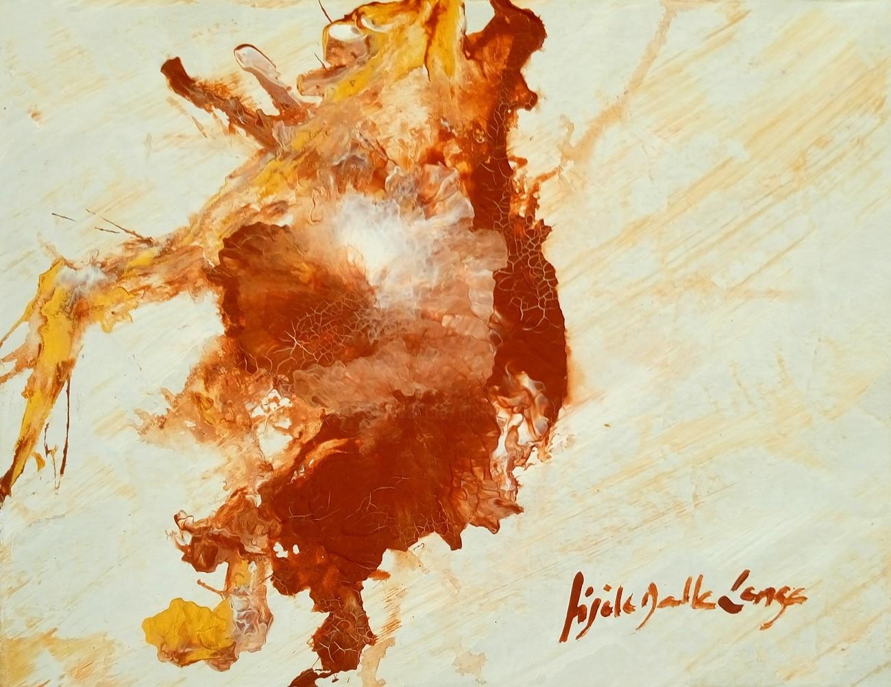 Gisèle Dalla Longa - Sans Titre (Du coeur...)595C